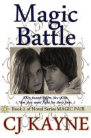 Cover for 'Magic Battle - Book 2 in Novel Series Magic Pair'