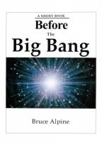 Cover for 'Before The Big Bang'