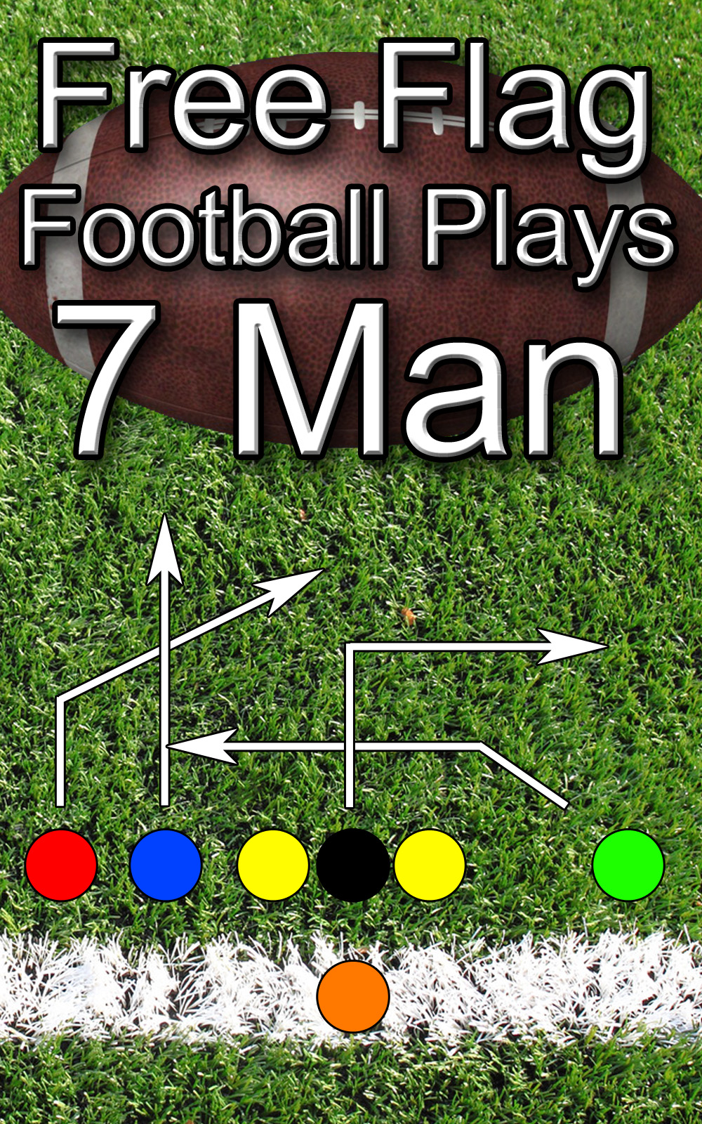Smashwords Free Flag Football Plays 7 Man A Book By Jason Bellomy