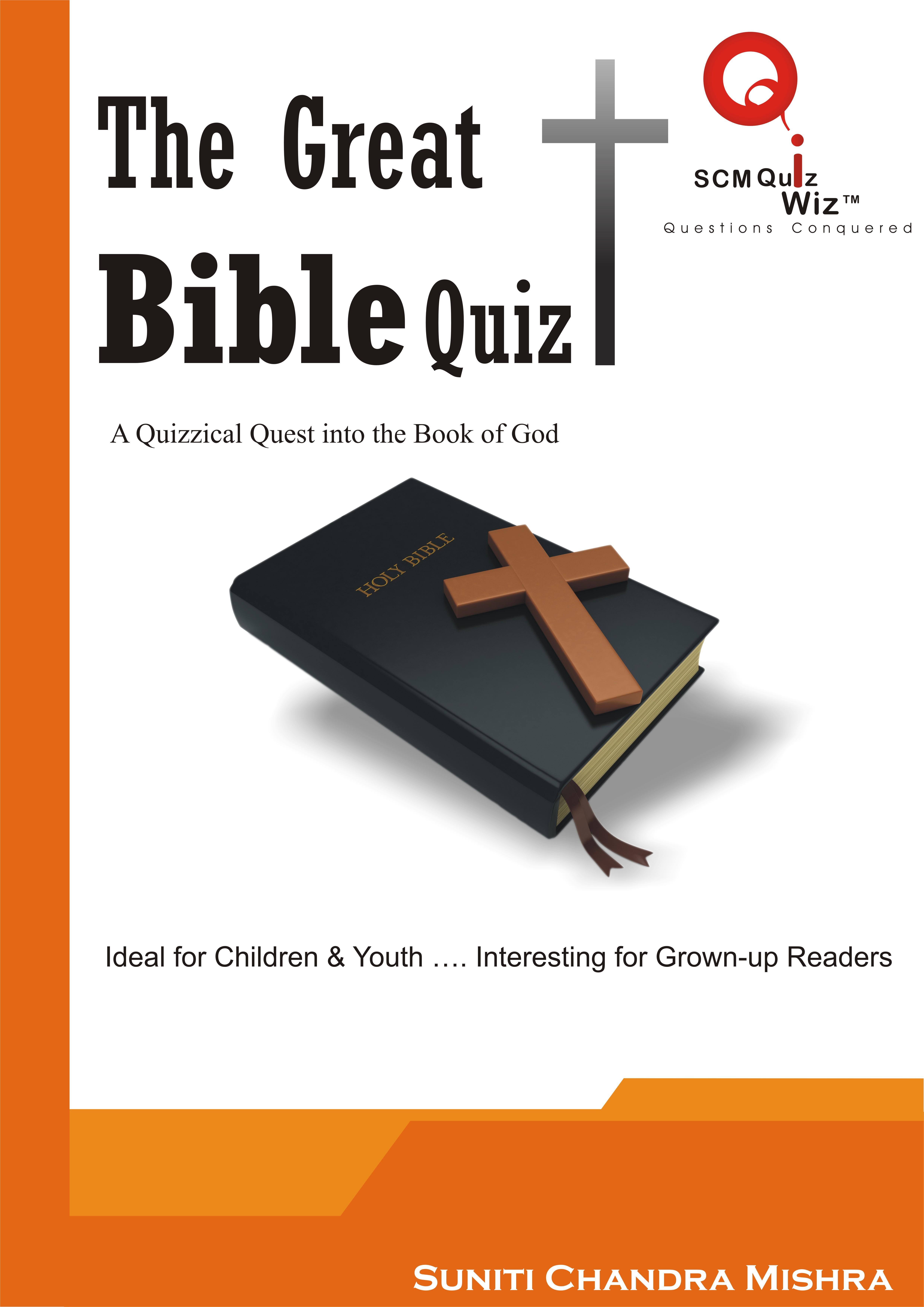 The Great Bible Quiz Series Children Books