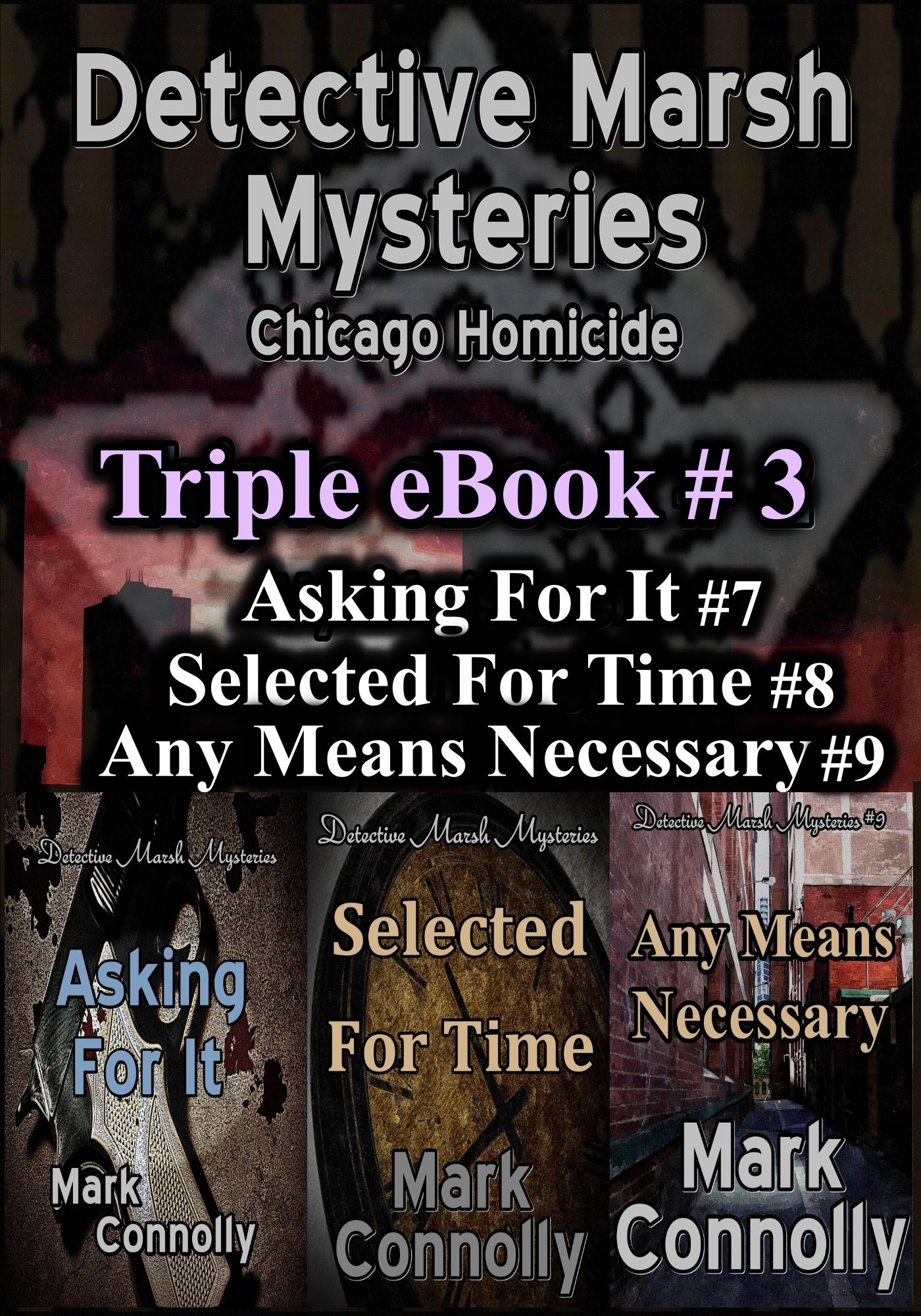 Detective Marsh Mysteries Triple eBook #3, an Ebook by Mark Connolly