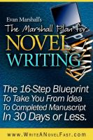 Cover for 'The Marshall Plan® for Novel Writing'