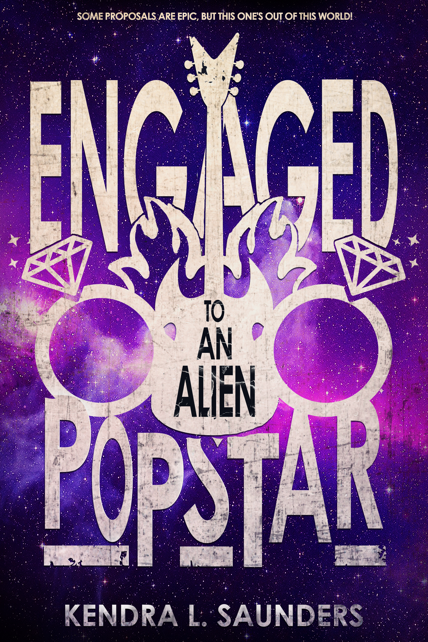 smashwords engaged to an alien pop star a book by kendra l saunders
