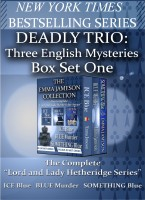 Deadly Trio: Three English Mysteries cover