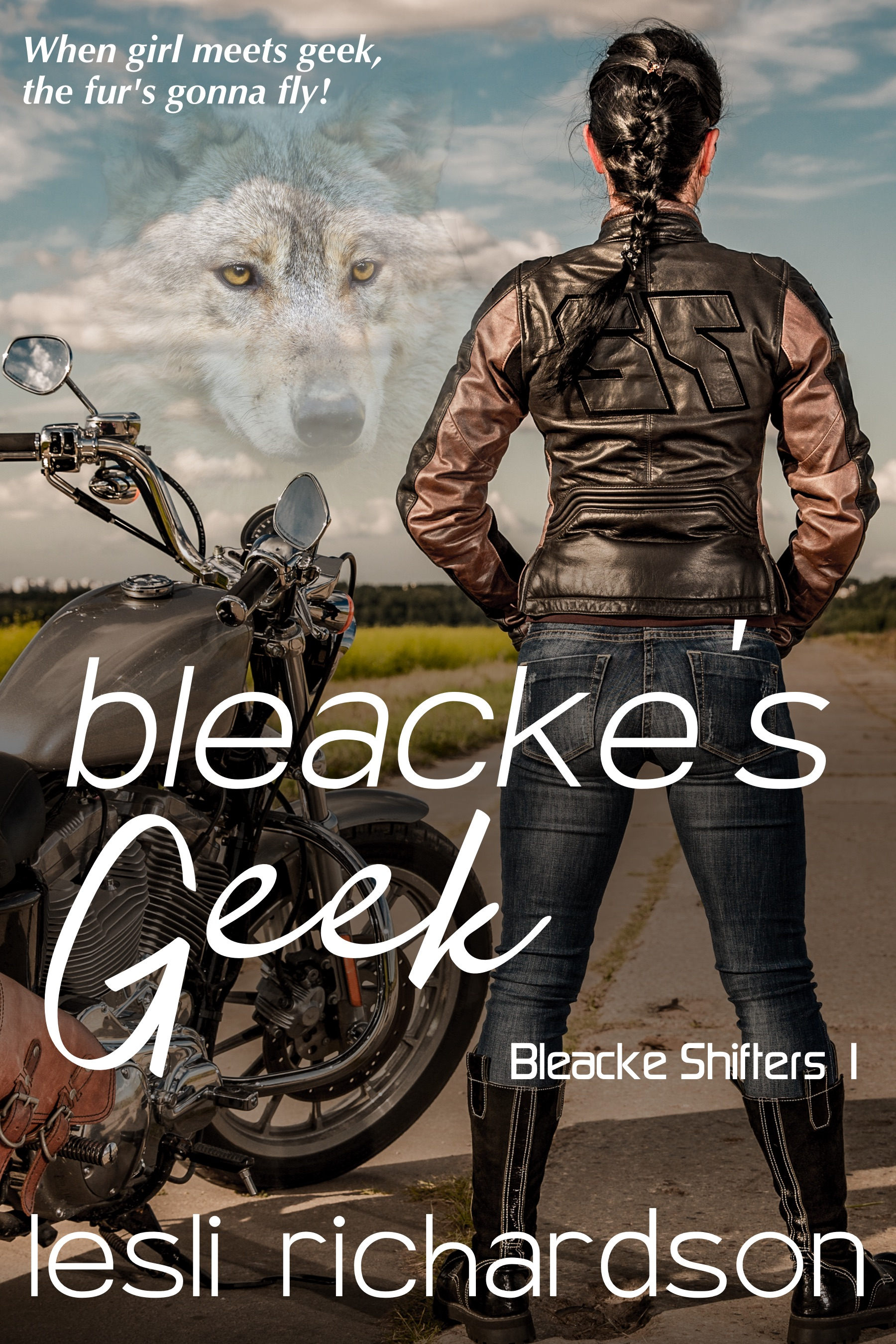 Bleacke's Geek (Bleacke Shifters 1) (sst-cxlix)
