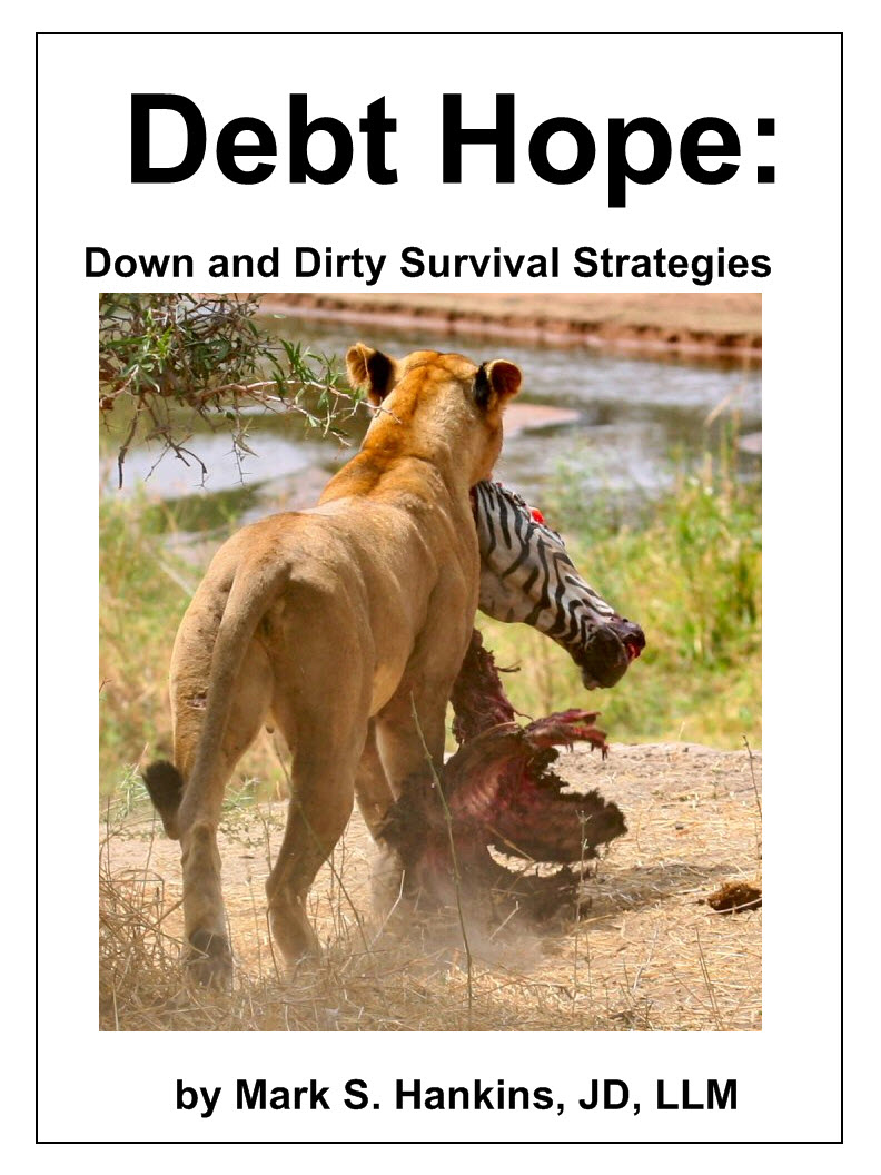 Debt Hope: down and dirty survival strategies