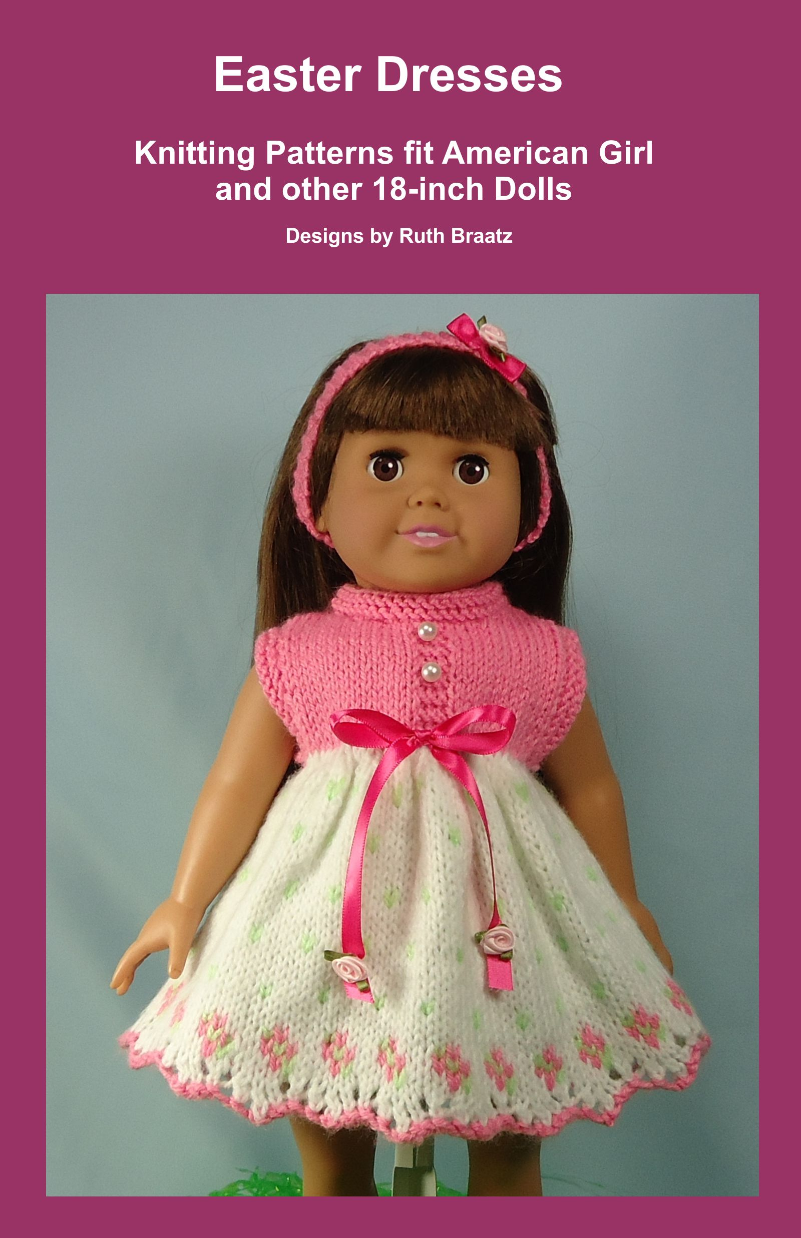 Smashwords – Easter Dresses, Knitting Patterns fit American Girl and ...