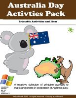 Cover for 'Australia Day Activities'