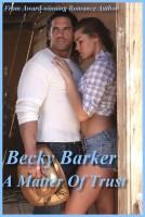 Becky Barker - A Matter Of Trust