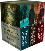 The Valley of Ten Crescents (Box Set: Books 1-3) cover