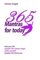 Cover for '365 Mantras for Today'