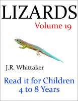 J. R. Whittaker - Lizards (Read it book for Children 4 to 8 years)