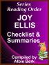 Joy Ellis - Series Reading Order - with Summaries & Checklist by Albie Berk