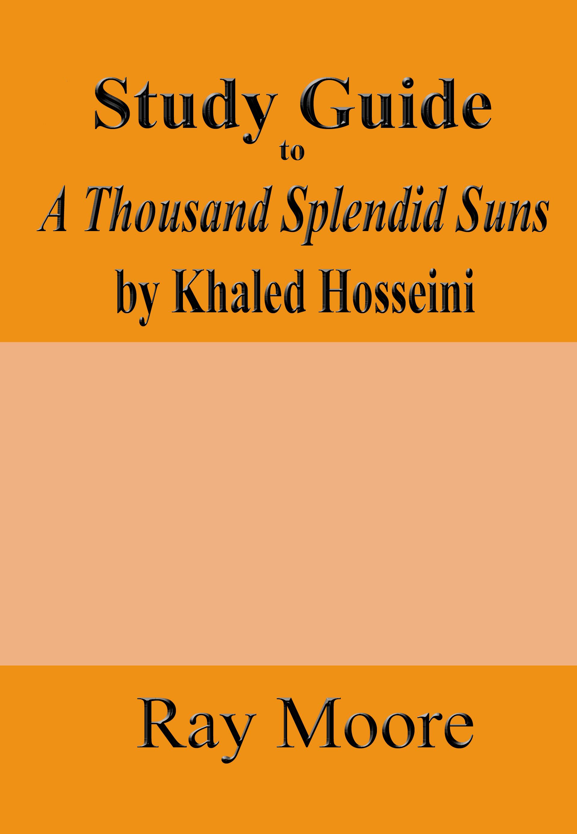 Khaled Hosseini A Thousand Splendid Suns Ebook