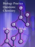 Cover for 'Biology Practice Questions: Chemistry'