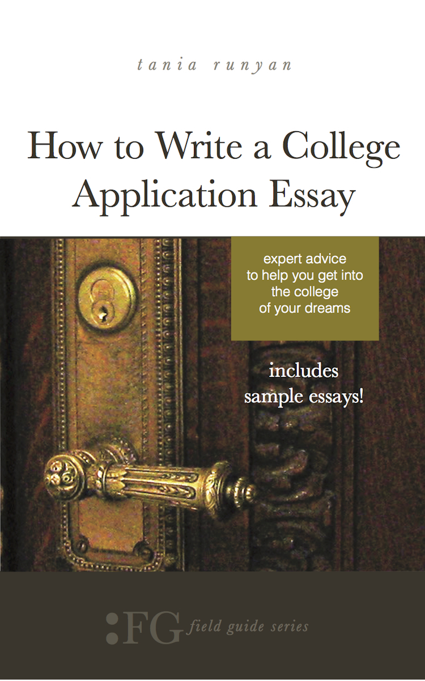 the college essay expert