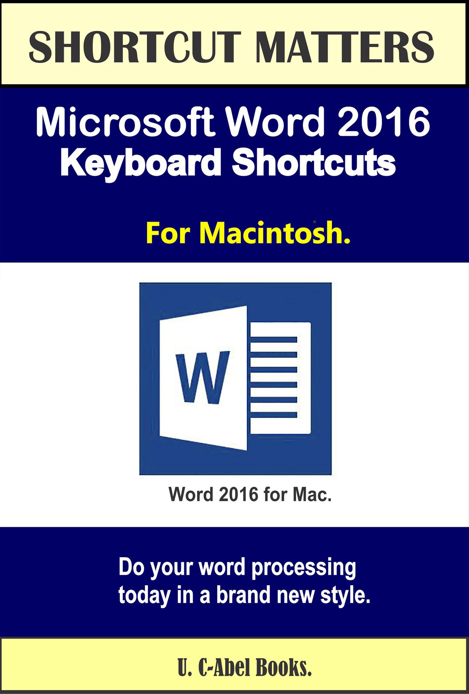 ms keyboard shortcuts