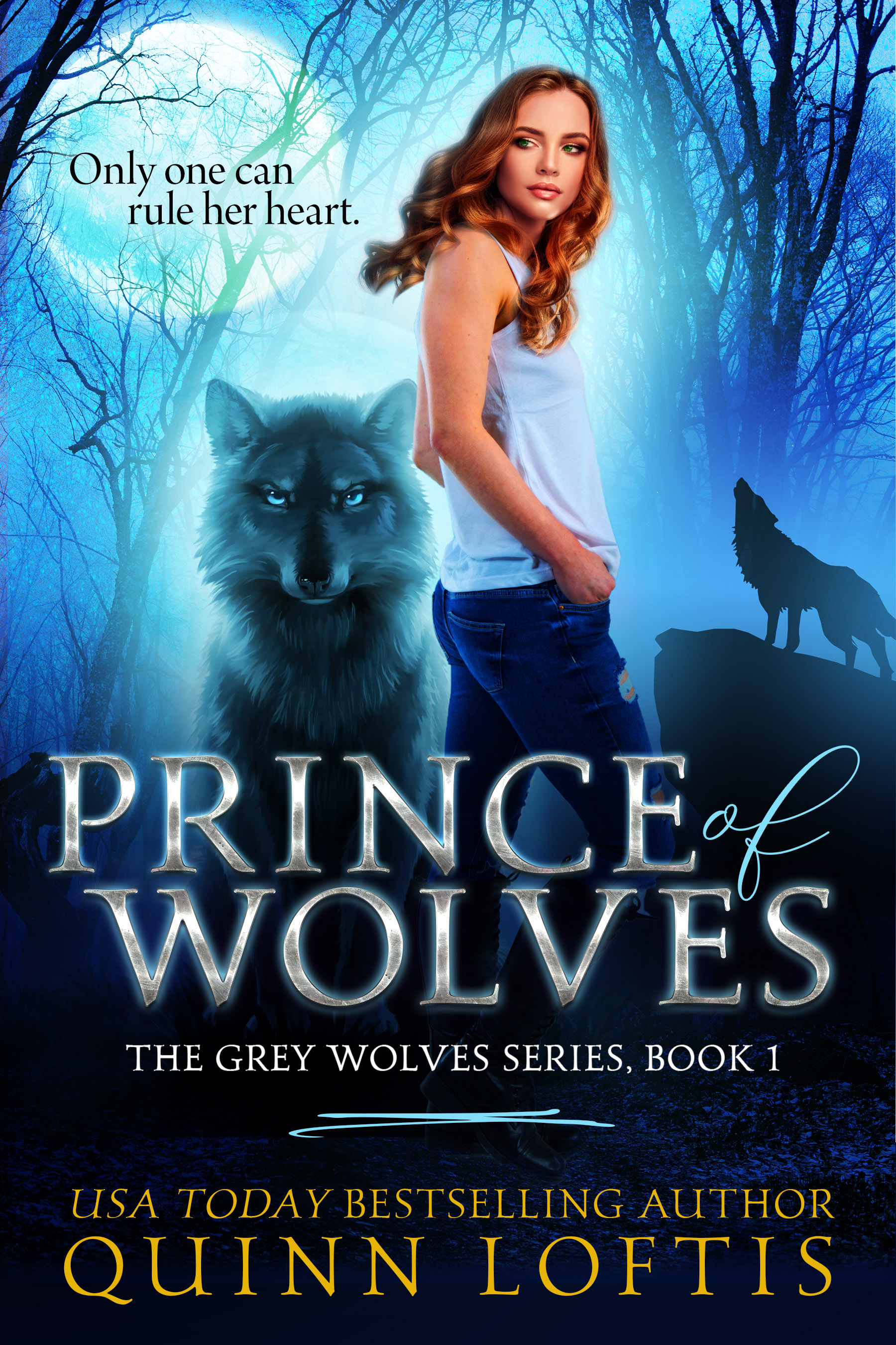 Prince of Wolves, Book 1 The Grey Wolves Series (sst-xii)
