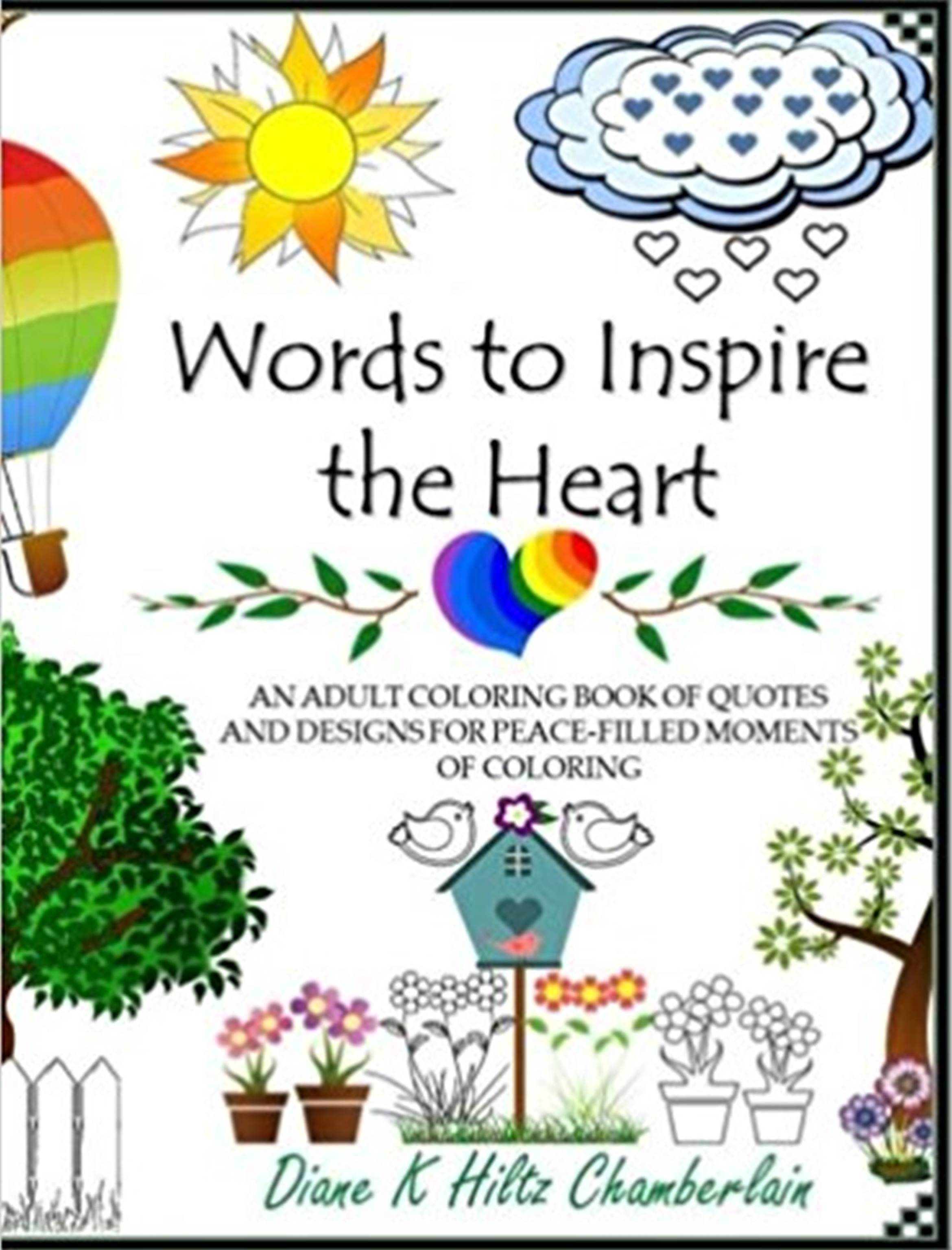 Smashwords Words To Inspire The Heart An Adult Coloring Book Of