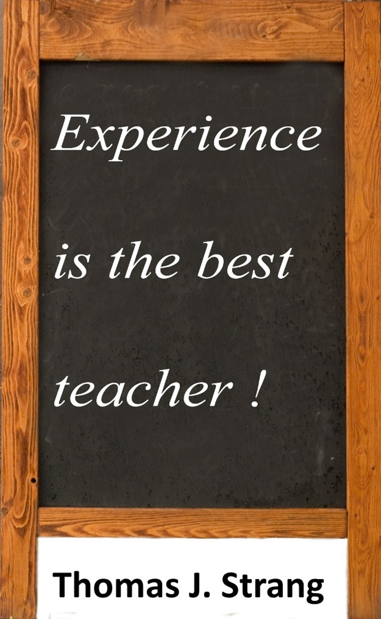 "essays about experience is the best teacher ""experience is the best teacher"" is an old cliché but i agree with that although some people think that best way to learn about life is by listening."