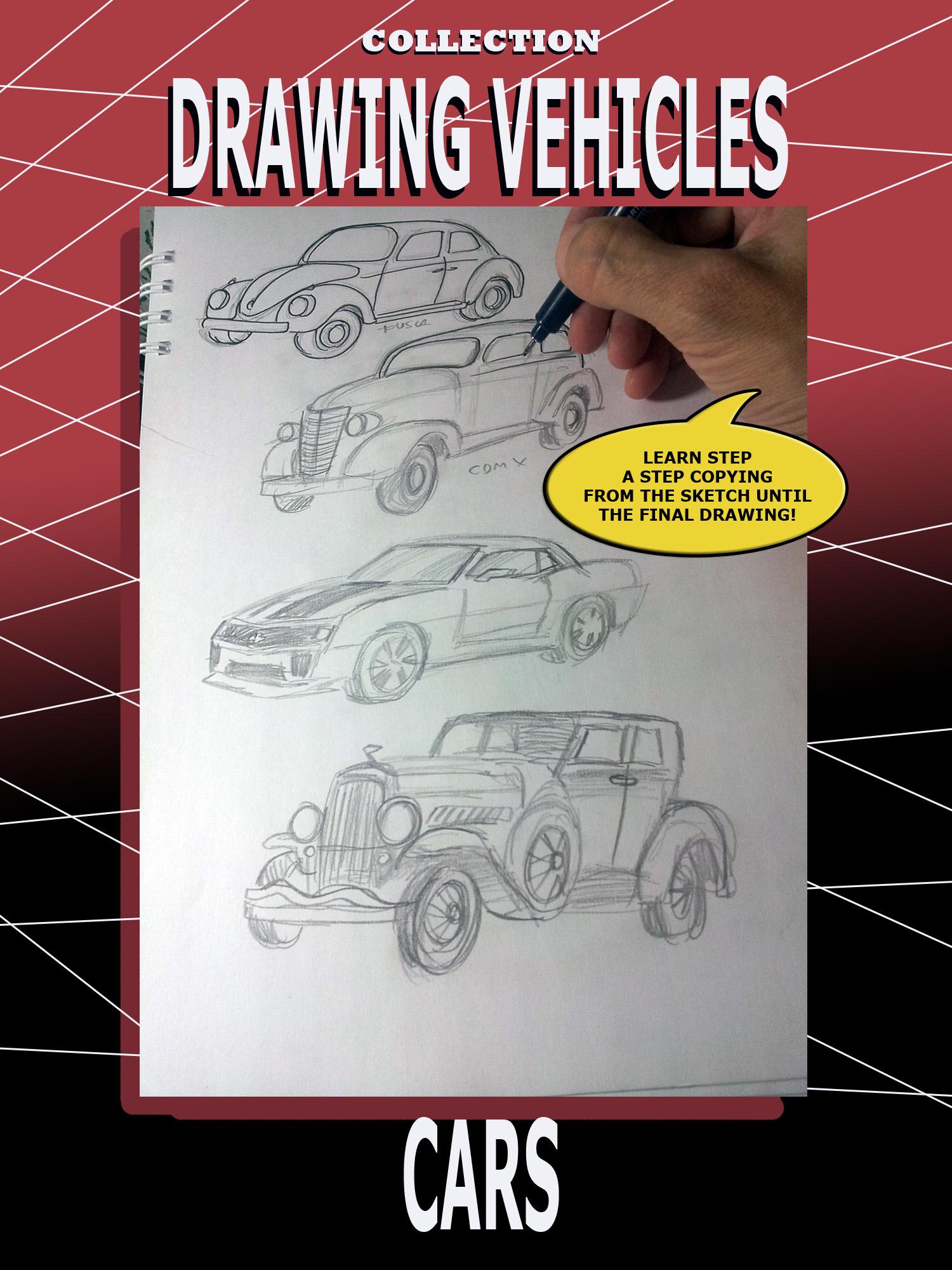 Smashwords Drawing Cars A Book By Jose Faedda Sr
