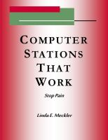 Linda Meckler - Computer Station's That Work - Stop Pain