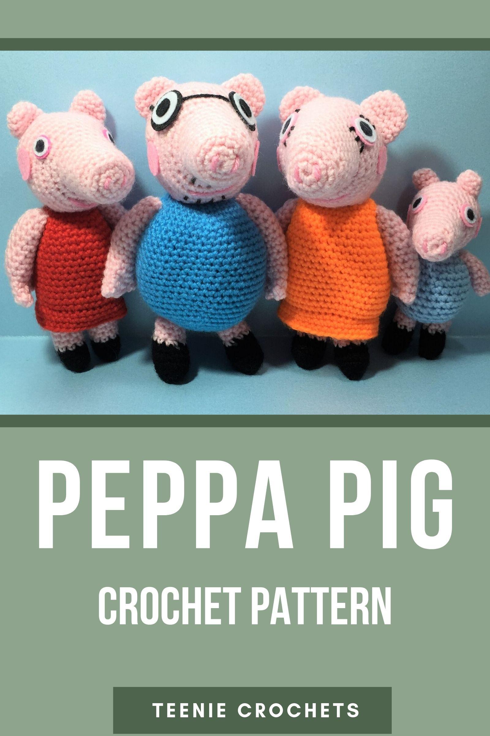 George Pig em Amigurumi no Elo7 | Crocheteria Dona Filó (C89522) | 2400x1600