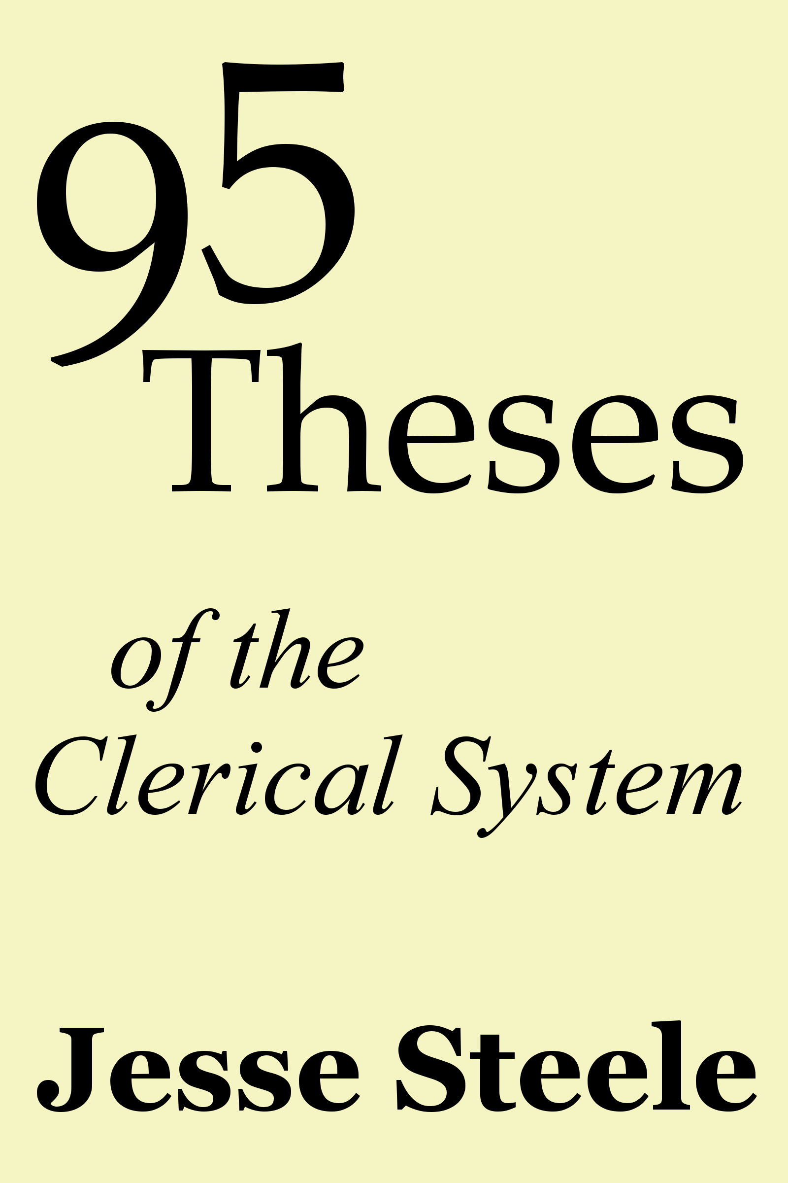 essay 95 theses
