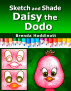 Sketch and Shade Daisy the Dodo by Brenda Hoddinott