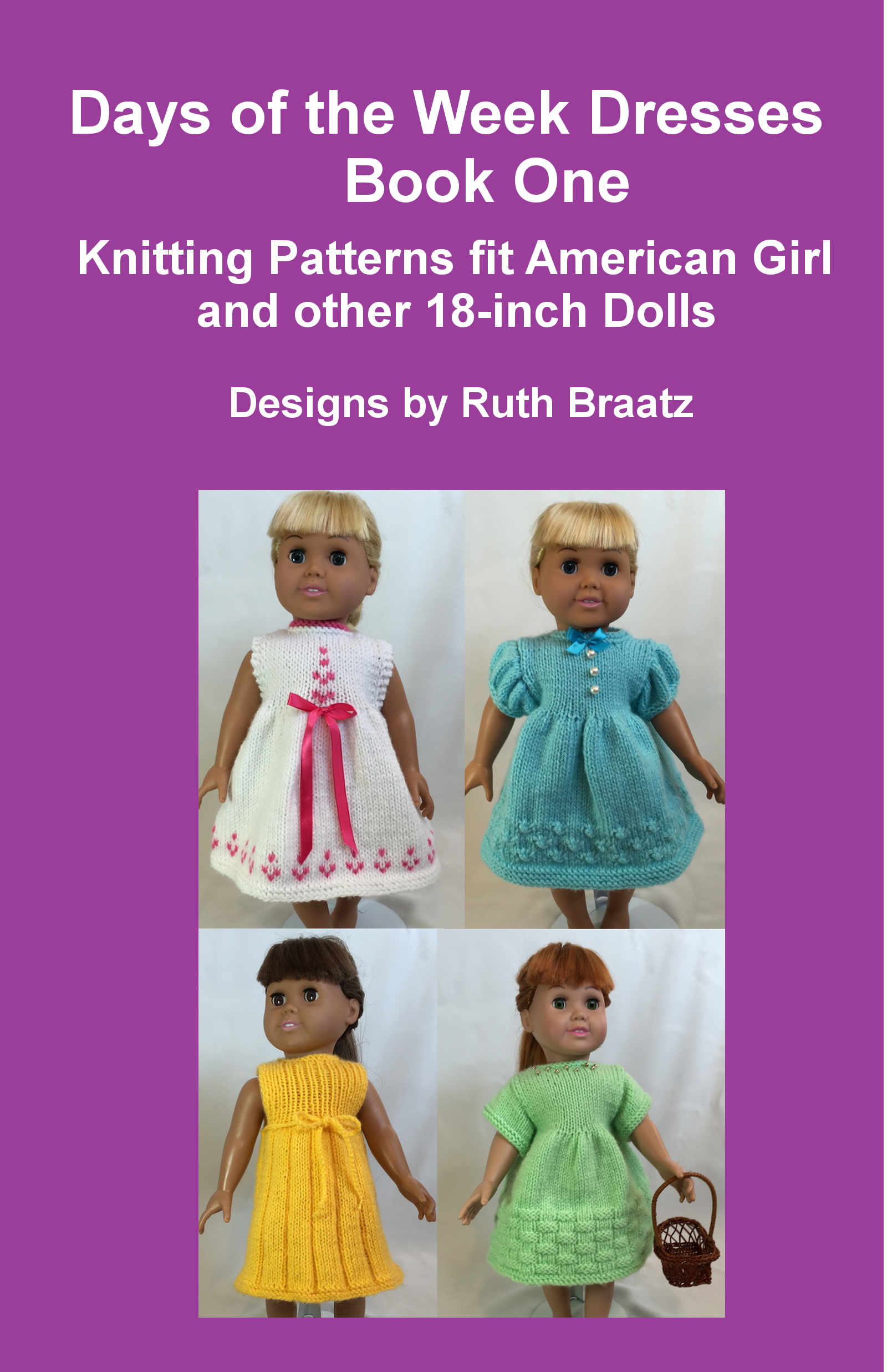 Smashwords – Days Of The Week Dresses, Book 1, Knitting Patterns Fit ...