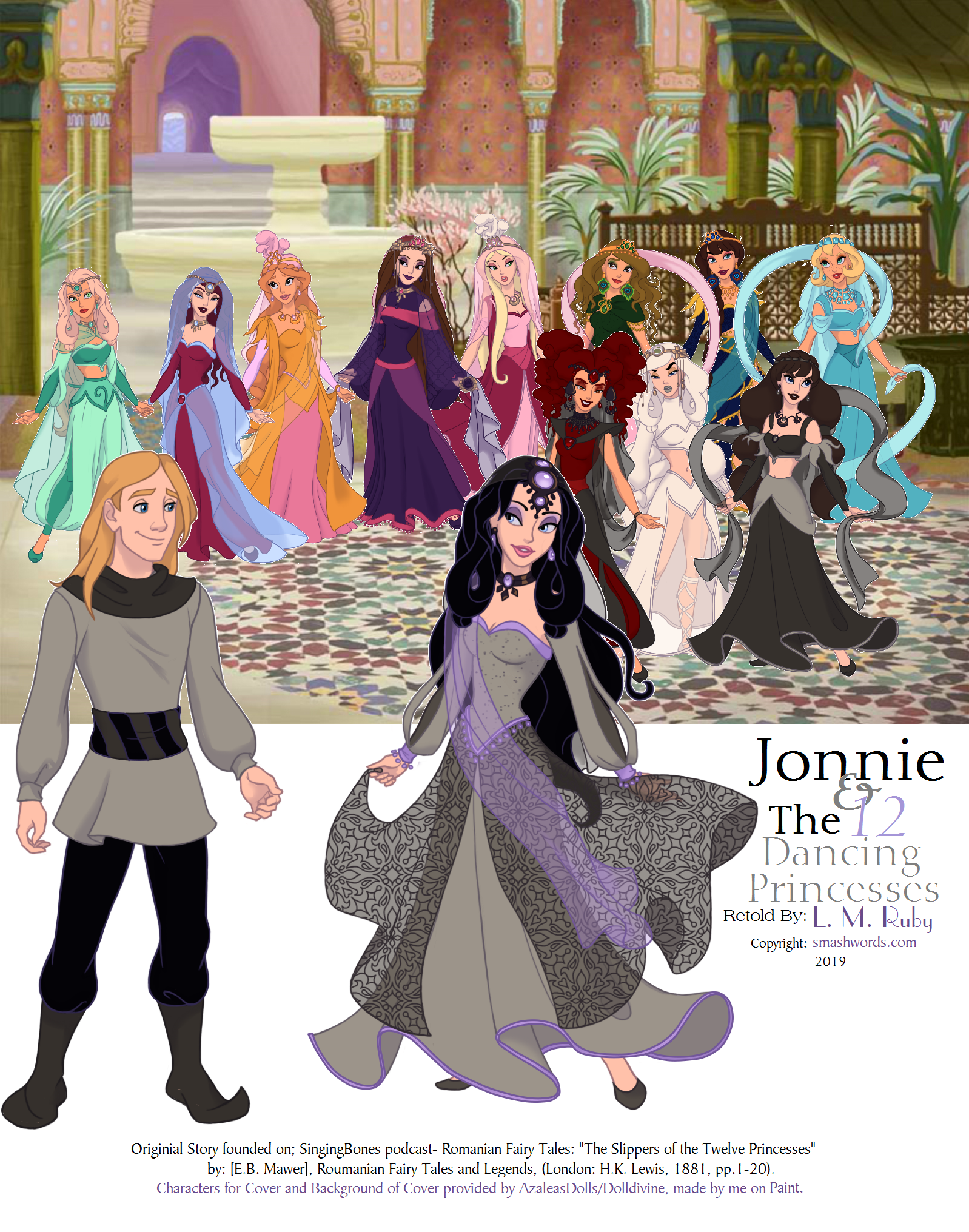 Smashwords Jonnie And The 12 Dancing Princesses A Book By L M