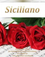 Pure Sheet Music - Siciliano Pure sheet music for harpsichord and F instrument arranged by Lars Christian Lundholm