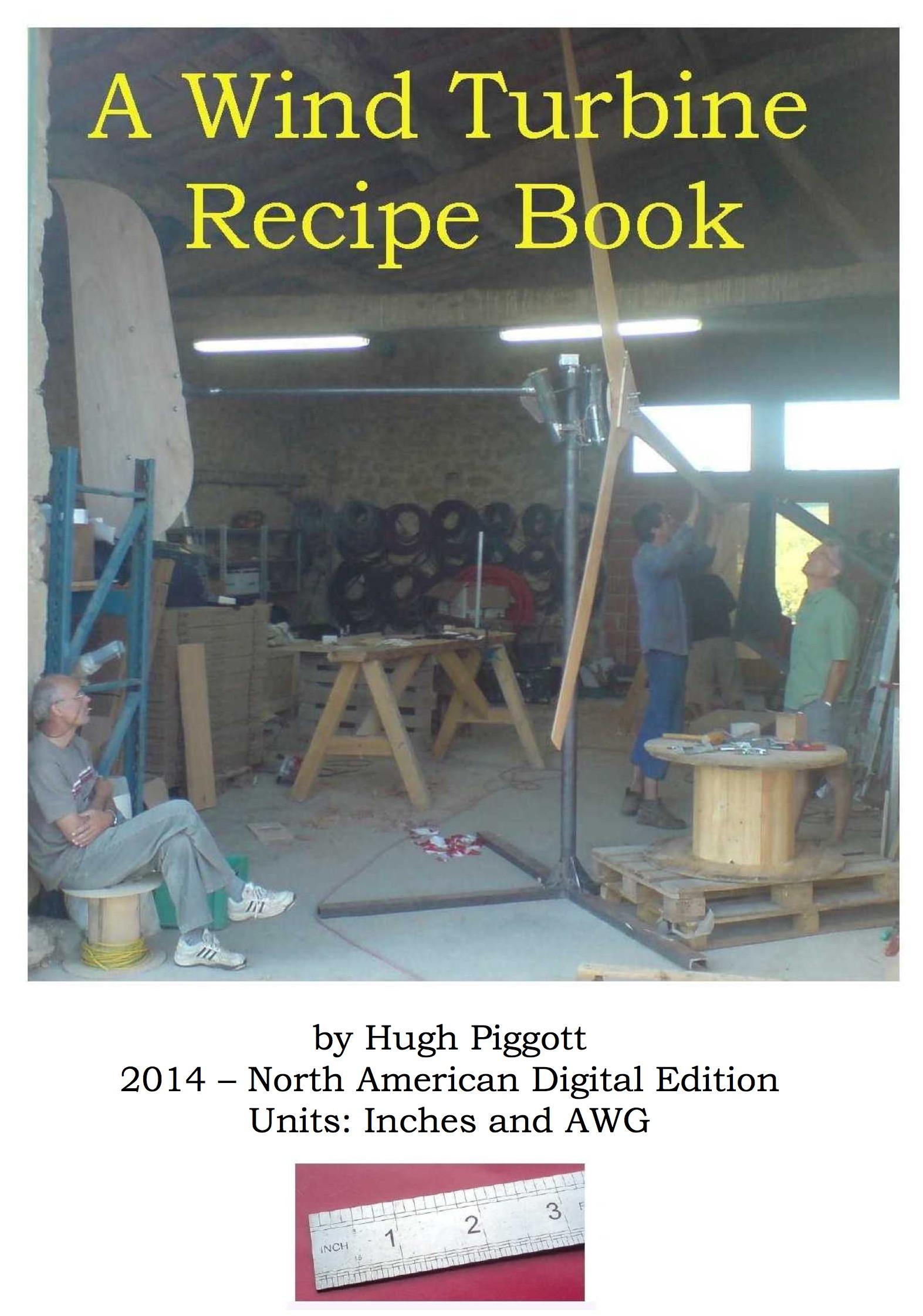 a wind turbine recipe book english edition