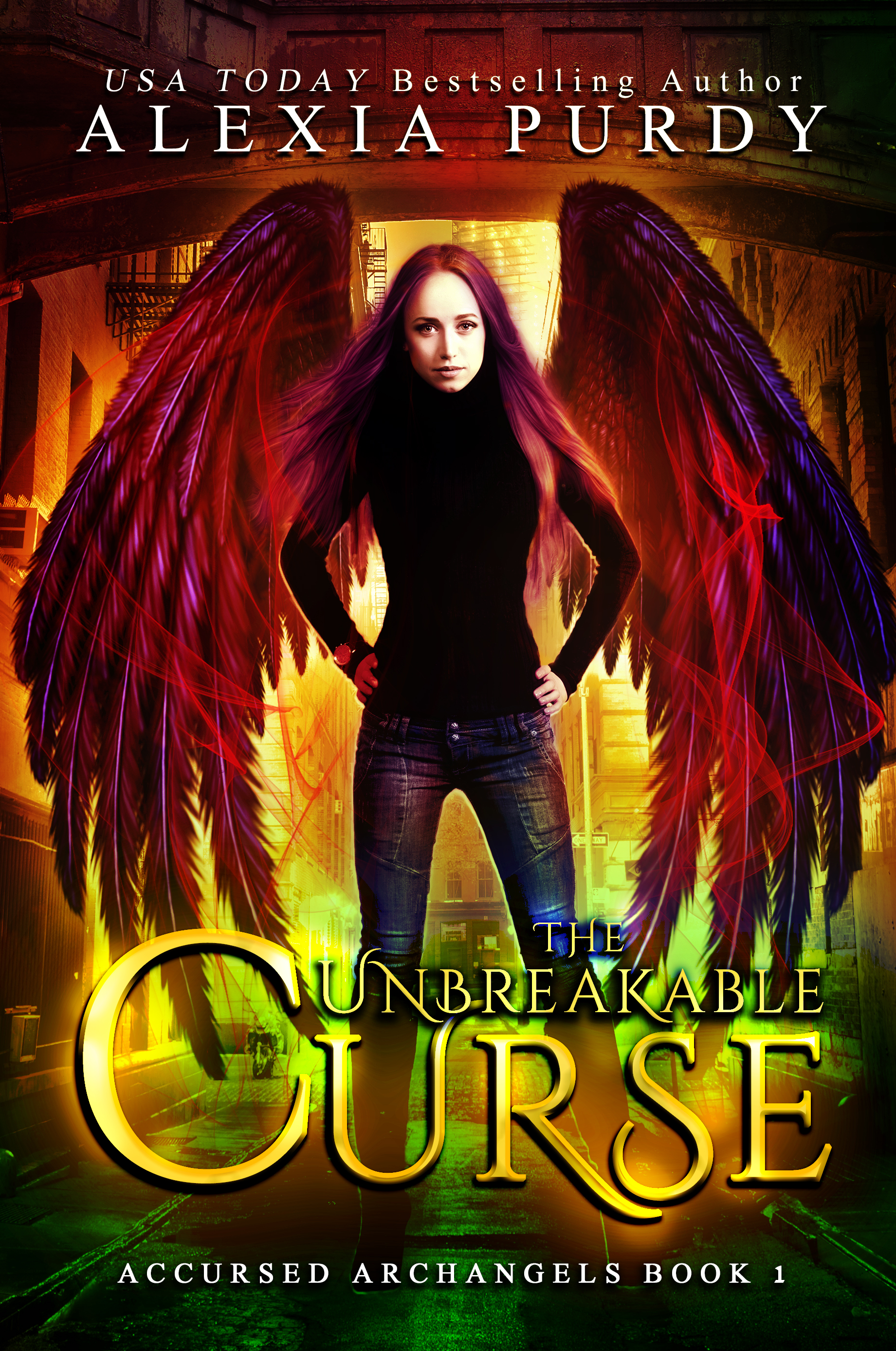 The Unbreakable Curse (Accursed Archangels #1) (sst-ix)