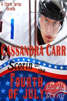Cassandra Carr - Scorin' on the Fourth of July: A Red Hot and BOOM! story