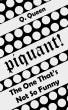 Piquant! (Bonus): The One That's Not So Funny by Q. Queen