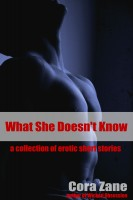 Cora Zane - What She Doesn't Know: A Collection of Erotic Short Stories
