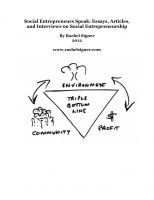 Essays on social entrepreneurship