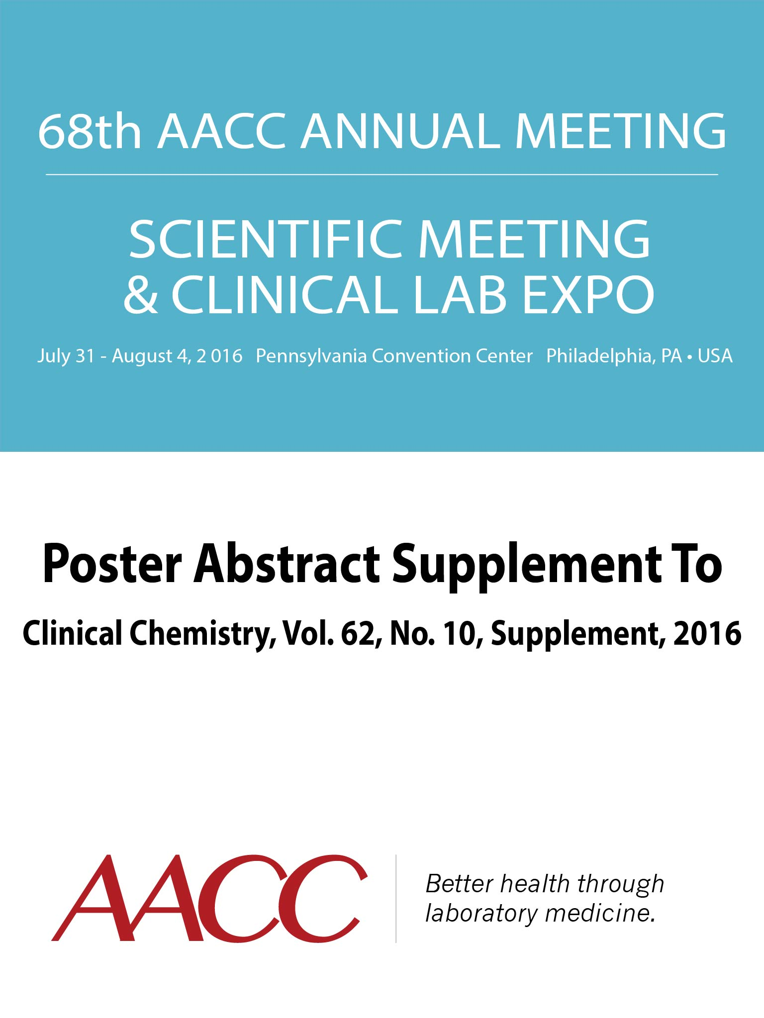 Smashwords 68th aacc annual scientific meeting abstract ebook a 68th aacc annual scientific meeting abstract ebook by american association for clinical chemistry fandeluxe Gallery