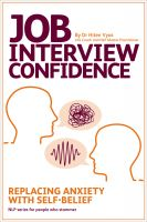 Hiten Vyas - Job Interview Confidence - Replacing Anxiety with Self-Belief (NLP series for people who stammer)
