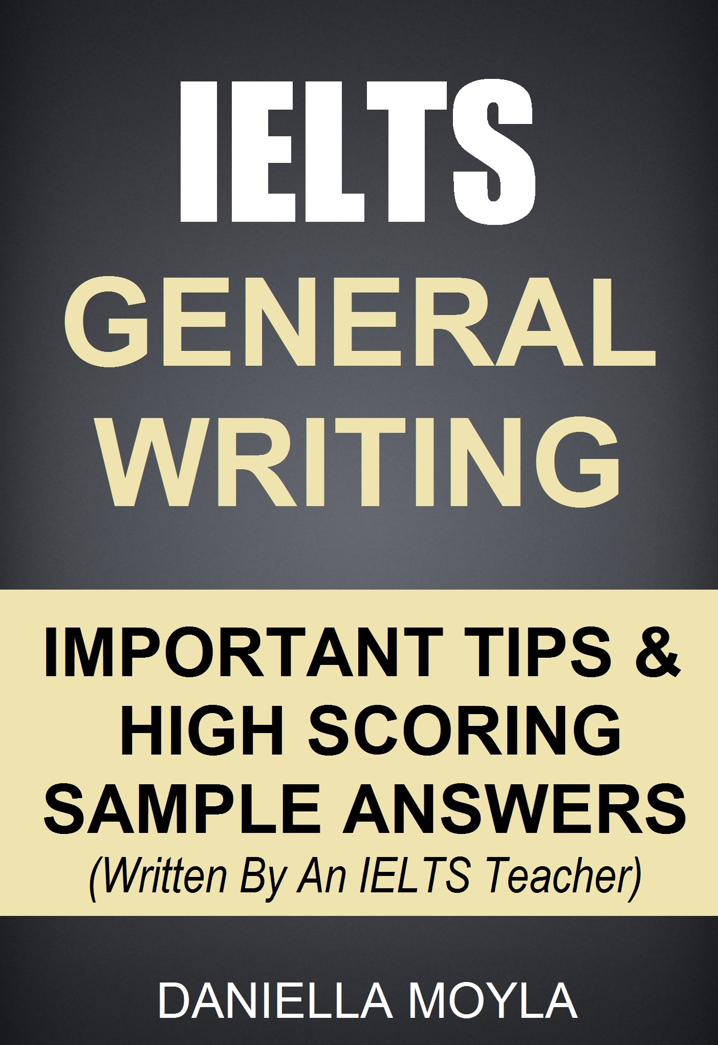 General writing books pdf ielts