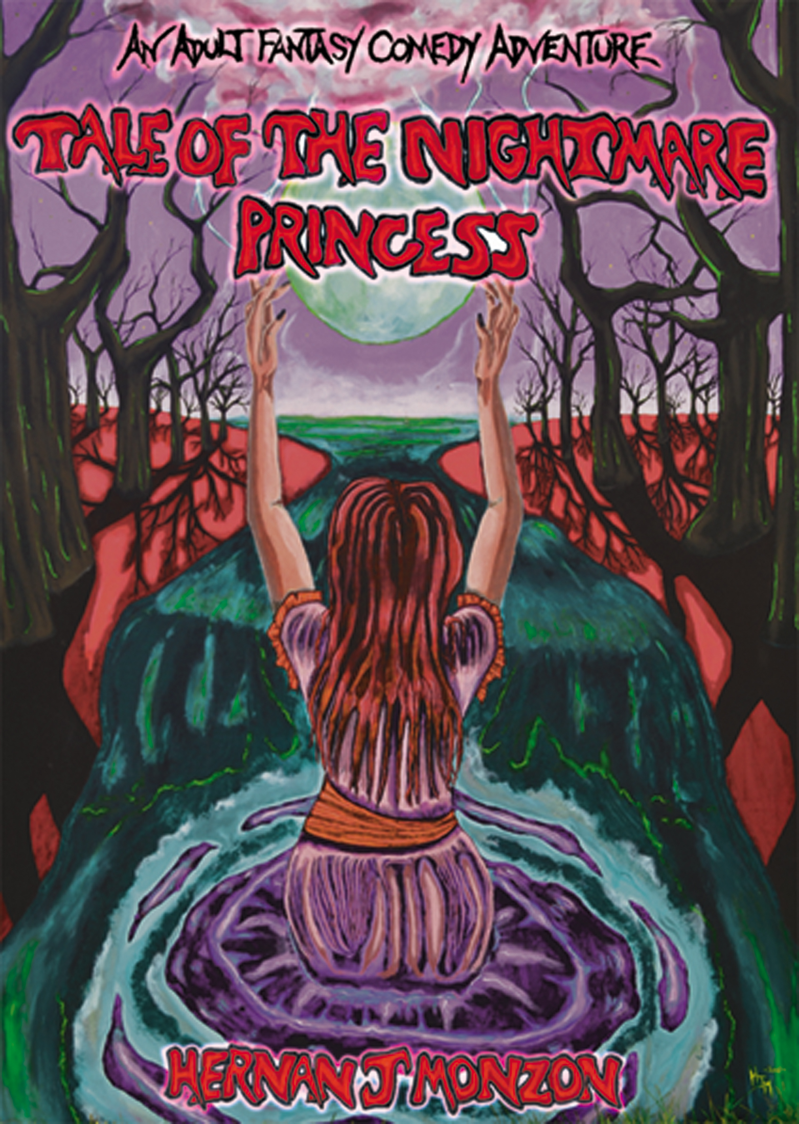 Tale of the Nightmare Princess: An Adult Comedy Fantasy Adventure