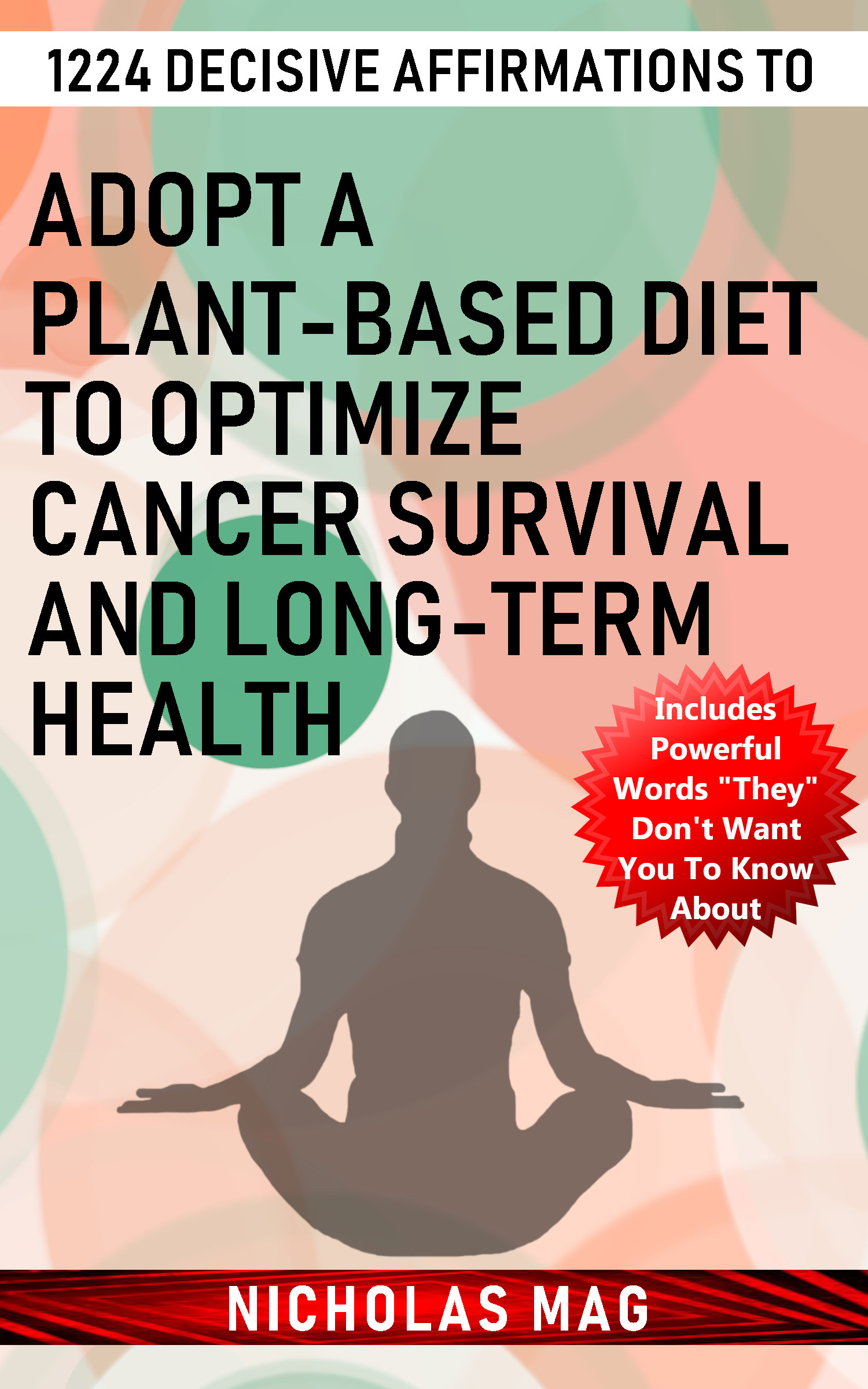 1224 Decisive Affirmations to Adopt a Plant-based Diet to Optimize Cancer  Survival and Long-term Health, an Ebook by Nicholas Mag